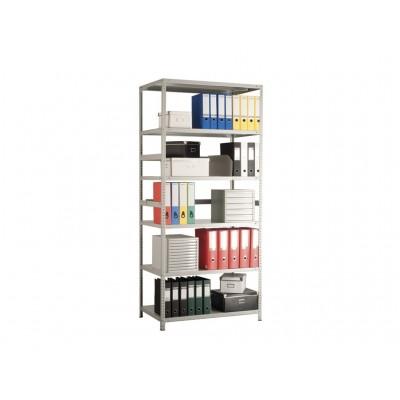 Стеллаж металлический MS Standart 185/100x40/4